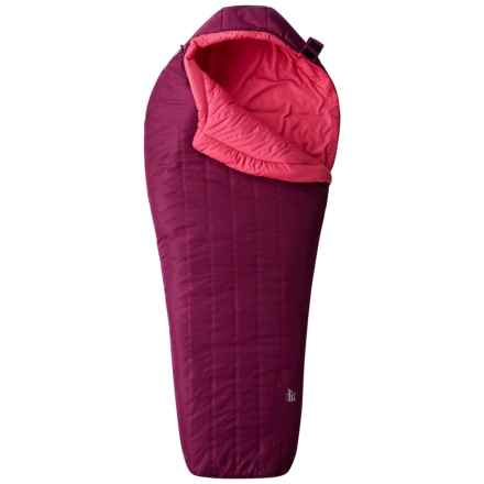 Mountain Hardwear 35°F Hotbed Spark Sleeping Bag - Mummy (For Women) in Dark Raspberry - Closeouts