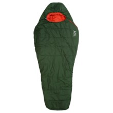 Mountain Hardwear 35°F Pinole II Sleeping Bag - Long, Synthetic, Mummy in Woodland/ State Orange - Closeouts