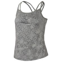 Mountain Hardwear Afra Tank Top - Built-in Bra, Stretch Jersey (For Women) in Titanium - Closeouts