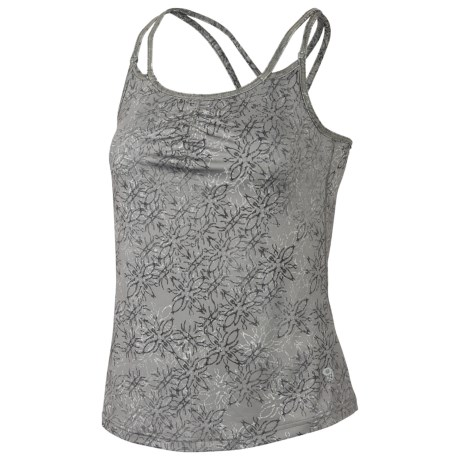 Mountain Hardwear Afra Tank Top - Built-in Bra, Stretch Jersey (For Women) in Chipper