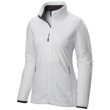 Mountain Hardwear Agama Fleece Jacket (For Women) in Sea Salt - Closeouts
