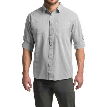 Mountain Hardwear Air Tech Shirt - UPF 25, Long Sleeve (For Men) in Grey Ice - Closeouts