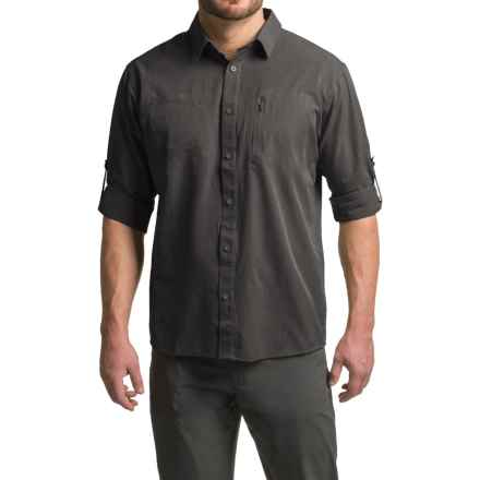 Mountain Hardwear Air Tech Shirt - UPF 25, Long Sleeve (For Men) in Shark - Closeouts