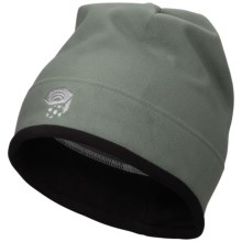 Mountain Hardwear AirShield Micro Dome Beanie Hat - Fleece (For Men) in Vert - Closeouts
