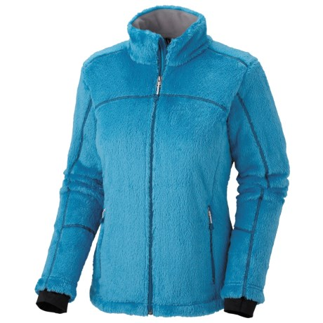 Mountain Hardwear AirShield Monkey Woman Jacket - Polartec® Thermal Pro® (For Women) in Oxide Blue