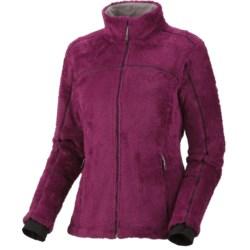 Mountain Hardwear AirShield Monkey Woman Jacket - Polartec® Thermal Pro® (For Women) in Red Onion