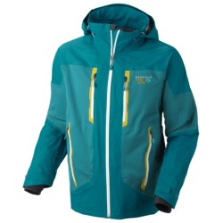 Mountain Hardwear Alakazam Dry.Q Elite Jacket - Waterproof (For Men) in Sea Level/Deep Water