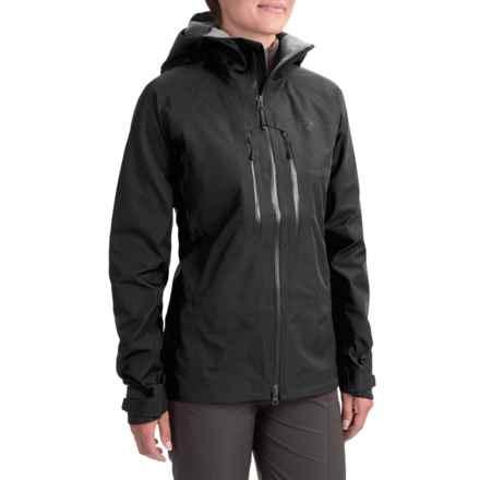 Mountain Hardwear Alchemy Dry.Q® Elite Jacket - Waterproof (For Women) in Black - Closeouts