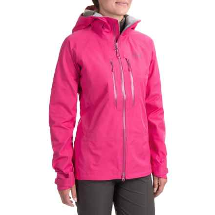 Mountain Hardwear Alchemy Dry.Q® Elite Jacket - Waterproof (For Women) in Haute Pink - Closeouts