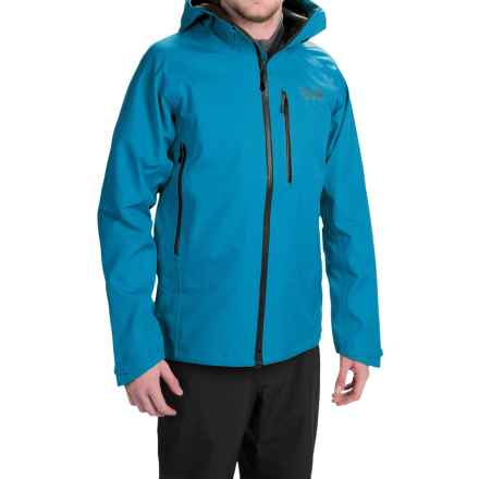 Mountain Hardwear Alchemy Hooded Dry.Q® Elite Jacket - Waterproof (For Men) in Dark Compass - Closeouts