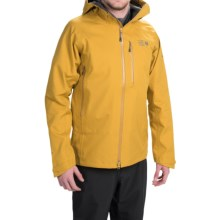 Mountain Hardwear Alchemy Hooded Dry.Q® Elite Jacket - Waterproof (For Men) in Inca Gold - Closeouts
