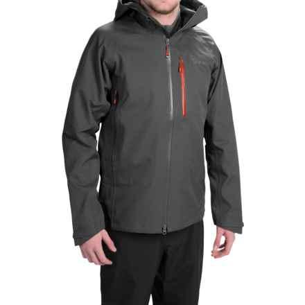Mountain Hardwear Alchemy Hooded Dry.Q® Elite Jacket - Waterproof (For Men) in Shark - Closeouts