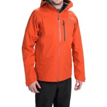 Mountain Hardwear Alchemy Hooded Dry.Q® Elite Jacket - Waterproof (For Men) in State Orange - Closeouts