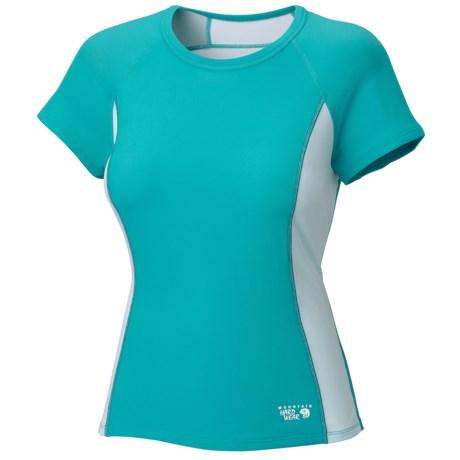 Mountain Hardwear Aliso T-Shirt - UPF 25, Short Sleeve (For Women) in Geyser