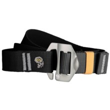 Mountain Hardwear Alloy Nut Belt (For Men and Women) in Black - Closeouts
