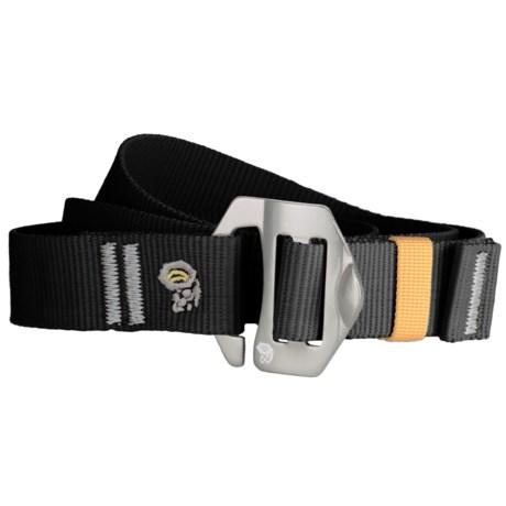 Mountain Hardwear Alloy Nut Belt (For Men and Women) in Black