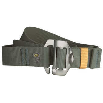 Mountain Hardwear Alloy Nut Belt (For Men and Women) in Stone Green