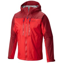 Mountain Hardwear Alpen Plasmic Ion Dry.Q® Evap Jacket - Waterproof (For Men) in Cherrybomb/Smolder Red - Closeouts