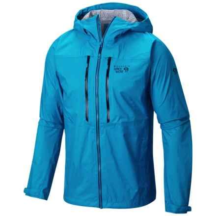 Mountain Hardwear Alpen Plasmic Ion Dry.Q® Evap Jacket - Waterproof (For Men) in Dark Compass - Closeouts