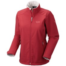 Mountain Hardwear Amida AirShield Core Jacket - Soft Shell (For Women) in Ruby - Closeouts