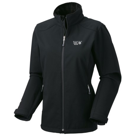 Mountain Hardwear Amida AirShield Core Soft Shell Jacket (For Women) in Black