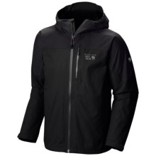 Mountain Hardwear Ampato Dry.Q® Elite Jacket - Waterproof (For Men) in Black - Closeouts