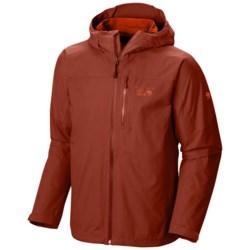 Mountain Hardwear Ampato Dry.Q® Elite Jacket - Waterproof (For Men) in Flame