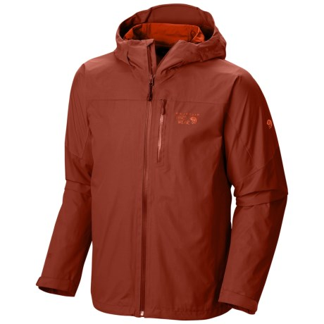Mountain Hardwear Ampato Dry.Q® Elite Jacket - Waterproof (For Men) in Flame