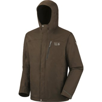 Mountain Hardwear Ampato Dry.Q Elite Jacket - Waterproof (For Men) in Otter