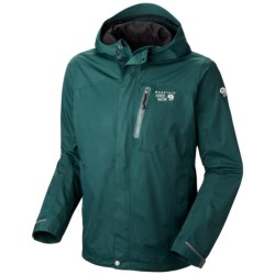 Mountain Hardwear Ampato Dry.Q® Elite Jacket - Waterproof (For Men) in Sherwood/Sherwood