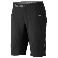 Mountain Hardwear Ancona Trek Shorts - UPF 25 (For Women) in Black