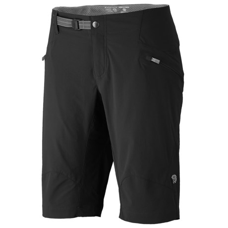 Mountain Hardwear Ancona Trek Shorts - UPF 25 (For Women) in Black