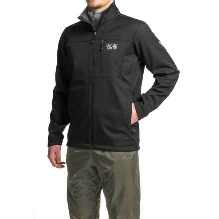 Mountain Hardwear Android II Soft Shell Jacket (For Men) in Black - Closeouts