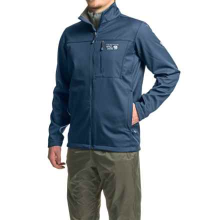 Mountain Hardwear Android II Soft Shell Jacket (For Men) in Collegiate Navy - Closeouts
