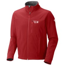 Mountain Hardwear Android Jacket - Soft Shell (For Men) in Red Velvet - Closeouts