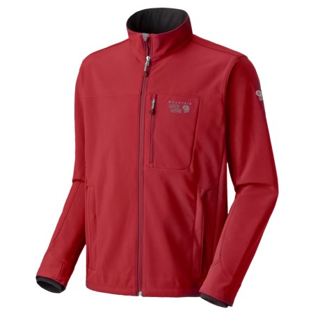 Mountain Hardwear Android  Soft Shell Jacket (For Men) in Thunderbird Red