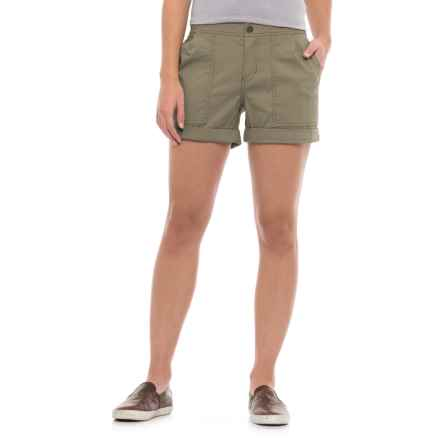 Mountain Hardwear AP Scrambler Shorts (For Women) in Stone Green - Closeouts