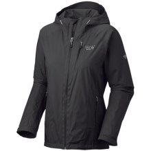 Mountain Hardwear Aquari Dry.Q Elite Jacket - Waterproof (For Women) in Black/Black - Closeouts