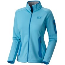 Mountain Hardwear Arlando Fleece Jacket (For Women) in Bounty Blue/Ray Blue - Closeouts