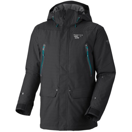 Mountain Hardwear Artisan Dry.Q Core Jacket - Waterproof, Insulated (For Men) in Elm