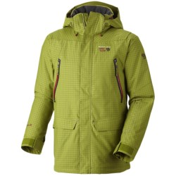 Mountain Hardwear Artisan Dry.Q Core Jacket - Waterproof, Insulated (For Men) in Sea Level