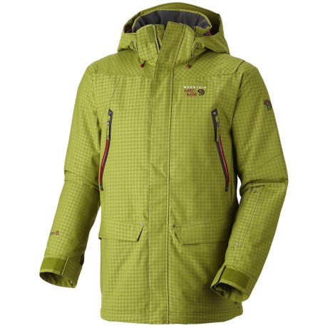 Mountain Hardwear Artisan Dry.Q Core Jacket - Waterproof, Insulated (For Men) in Black