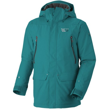 Mountain Hardwear Artisan Dry.Q® Core Jacket - Waterproof, Insulated (For Men) in Sea Level