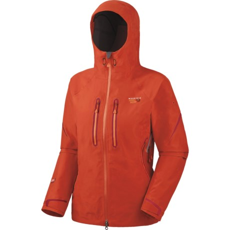Mountain Hardwear Asteria Dry.Q® Elite Jacket - Waterproof (For Women) in Hot Rod