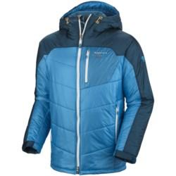 Mountain Hardwear B'Layman AirShield Elite Jacket - Insulated (For Men) in Cherry Bomb/Red Velvet