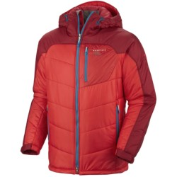 Mountain Hardwear B'Layman AirShield Elite Jacket - Insulated (For Men) in Cherry Bomb/Red Velvet