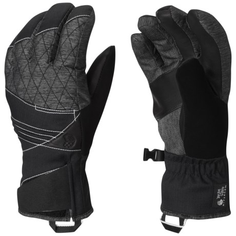Mountain Hardwear Back for More Gloves - Waterproof, Insulated (For Women)