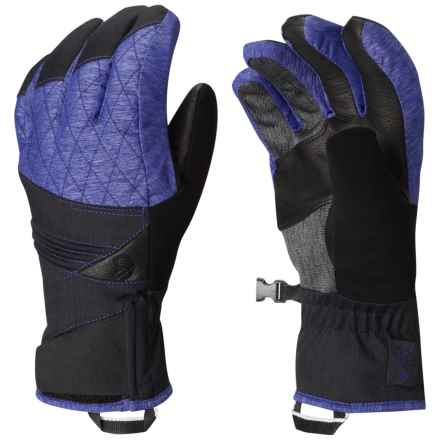 Mountain Hardwear Back for More Gloves - Waterproof, Insulated (For Women) in Heather Dynasty - Closeouts