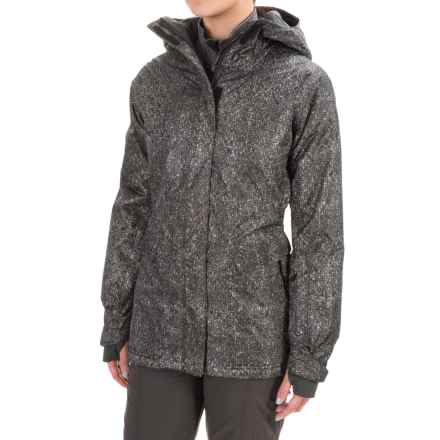 Mountain Hardwear Back for More Ski Jacket - Waterproof, Insulated (For Women) in Black - Closeouts