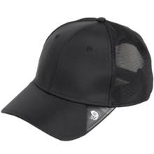 Mountain Hardwear Ballistic Baseball Cap (For Men and Women) in Black - Closeouts